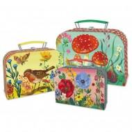 Kufříky z kartonu