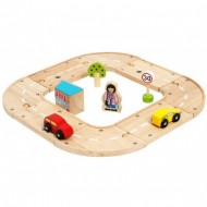 Autodráhy ze dřeva