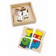 Puzzle v krabičce