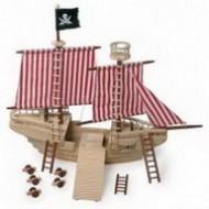 Dřevěné lodě a piráti