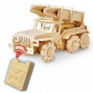 Dřevěné auta na vysílačku