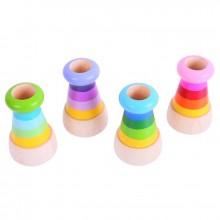 Bigjigs Toys Dřevěný kaleidoskop 1ks