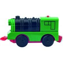 Woody Elektrická mašinka zelená