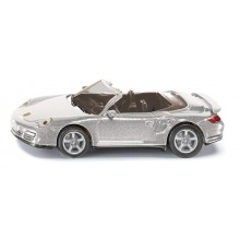 Kovový model auta - SIKU Blister Kabriolet Porsche 911 Turbo