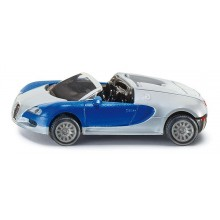 Kovový model auta -SIKU Blister - Bugatti Veyron Grand Sport