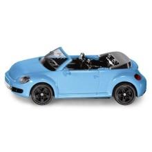 Siku Kovový model Blister VW The Beetle Cabrio