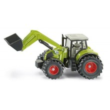 Siku Kovový model traktor Claas s předním nakladačem 1:50