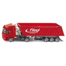 Siku Kovový model kamion s vyklápěcím vlekem 1:50