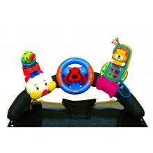 3 veselé hračky na přichycení suchým zipem