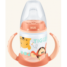 NUK First Choice lahvička na učení 150 ml Tiger oranžová