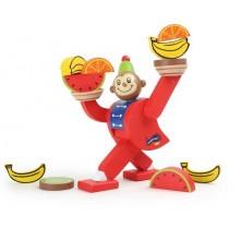 Dřevěná motorická hra - Balancující opička