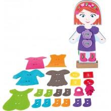 Small Foot Oblékání panenky