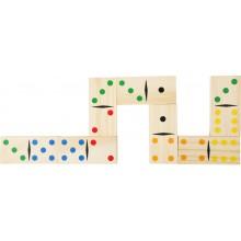 Small Foot Dřevěné hry obří domino