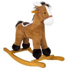Small Foot Dřevěný houpací kůň se sedlem