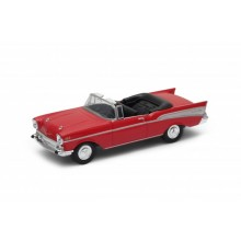 Welly - Chevrolet Bel Air ('57)1:34 červené
