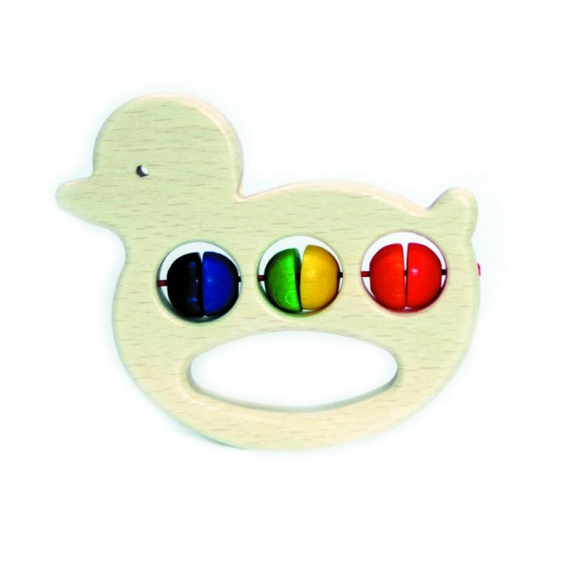 Hess Dřevěné kousátko kačenka