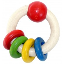 Hess Chrastítko kulaté se 4 kroužky