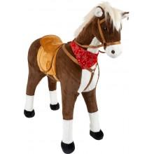 Small Foot Sedací kůň XL hnědy se zvukem