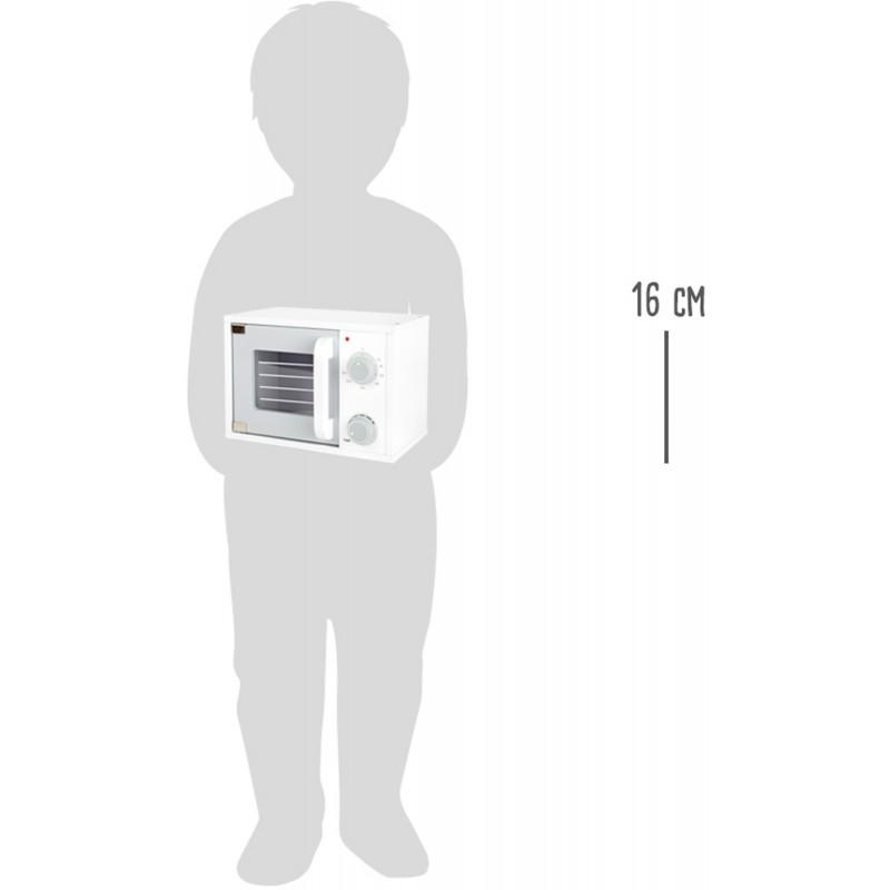 Small Foot Dřevěná mikrovlná trouba