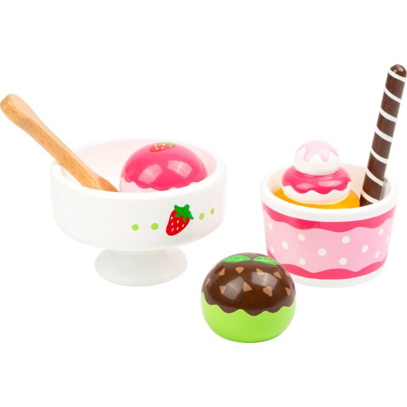 Small Foot Set na přípravu zmrzlinového poháru