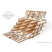 Ugears 3D dřevěné puzzle Stojánek na karty