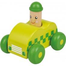 Small Foot Dřevěné autíčko 1ks zelené