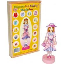 Small Foot Převlékací magnetická panenka Magda