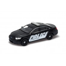 Welly - Ford Interceptor Police model 1:24 Black
