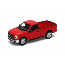 Welly - Ford F-150 Regular Cab (2015) model 1:24 červený