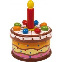Small Foot Hrací skříňka narozeninoý dortík