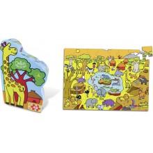 Vilac dřevěné puzzle Savana