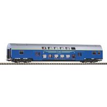 Piko Dvoupatrový osobní vagón CSD IV - 57689 modré dveře