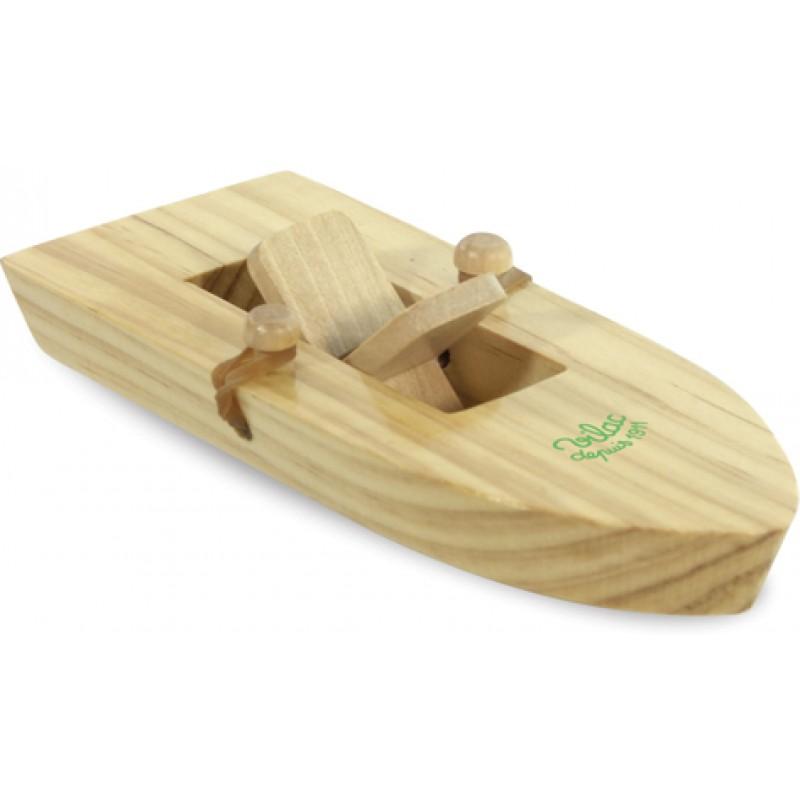 Vilac Dřevěná loďka na gumičkový pohon