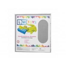 L-W Toys Velká podložka na stavění 50x50