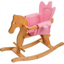 Small Foot Dřevěný houpací koník s křesílkem