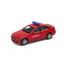 Welly - BMW 330i model 1:34 Feuerwehr červené
