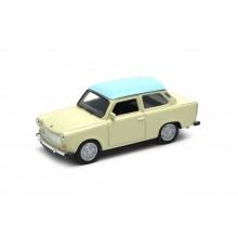 Welly - Trabant 601 1:34 krémový s modrou střechou