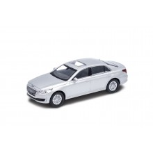 Welly - Hundai Genesis G90 model 1:34 stříbrná