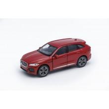 Welly - Jaguar F-Pace model 1:34 červený