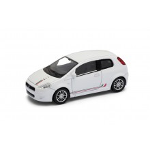 Welly - Fiat 500 model 1:43 Sport bílá