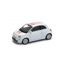 Welly - Fiat 500 model 1:43 červená