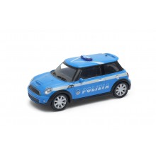 Welly - Mini Cooper S 1:43 policie