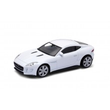 Welly - Jaguar F-Type Coupe model 1:43 bílé