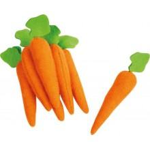 Small Foot Plyšové potraviny mrkev