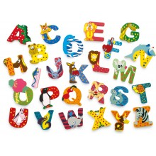 Dřevěná abecedy 1ks - písmenko A