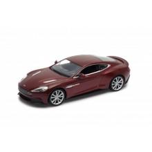 Welly - Aston Martin Vanquish model 1:24 tmavě červené