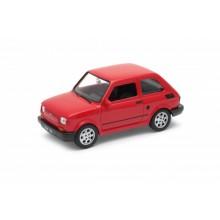 Welly - Fiat 126 model 1:34 červený