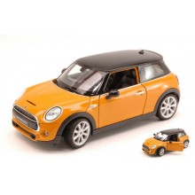 Welly - New Mini Hatch model 1:24 Orange