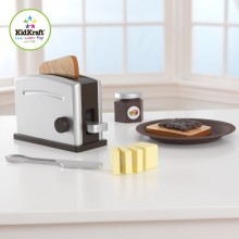 Kidkraft Espresso Toaster Set hnědý