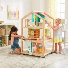 KidKraft Stylový otevřený domeček pro panenky